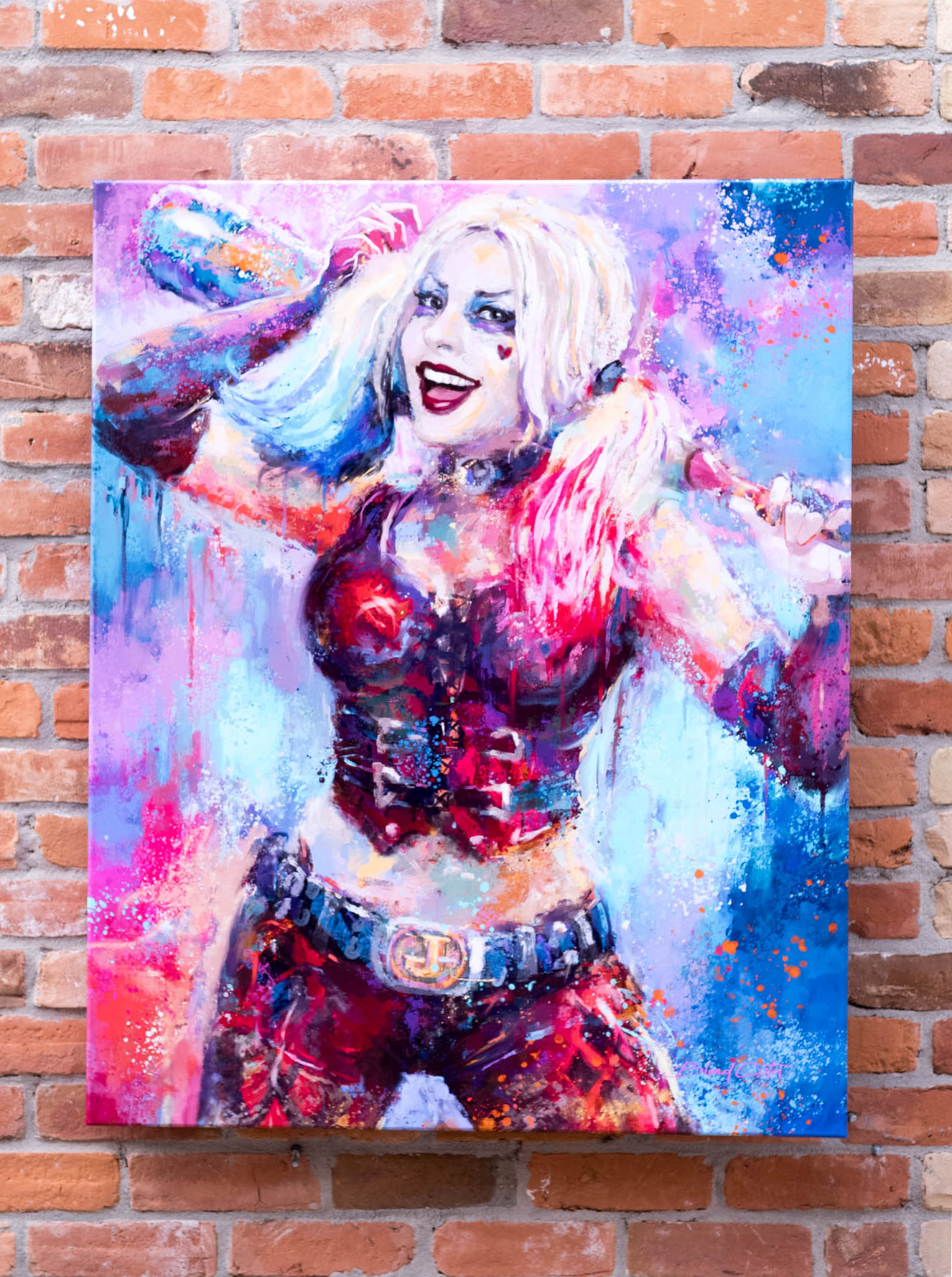 harley-on-bricks