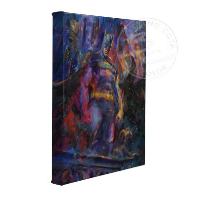 "The Dark Knight - 11"" x 14"" Gallery Wrapped Canvas"