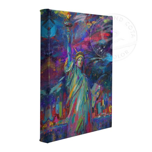 "Vive La Liberte - 11"" x 14"" Gallery Wrapped Canvas"