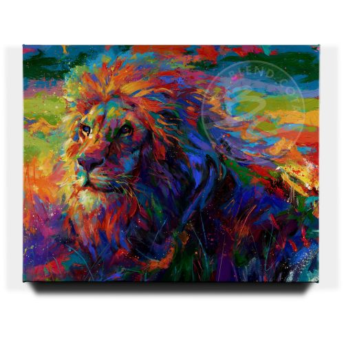 King of the Jungle - Limited Edition Canvas