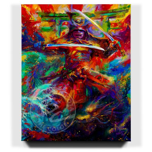 Samurai Warrior - Limited Edition Canvas