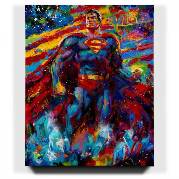 Superman - Last Son of Krypton - Limited Edition Stretched Canvas