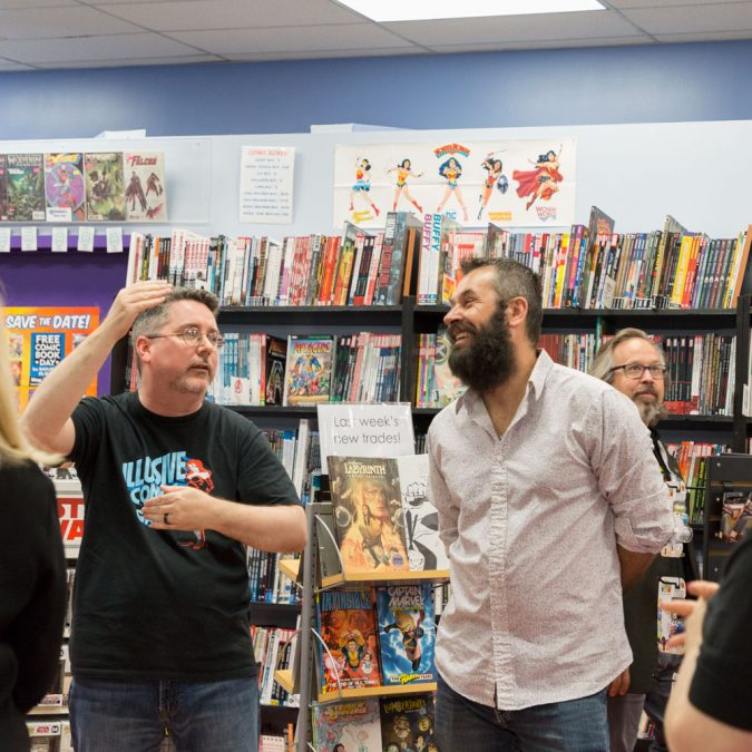 In-store appearance at Illusive Comics