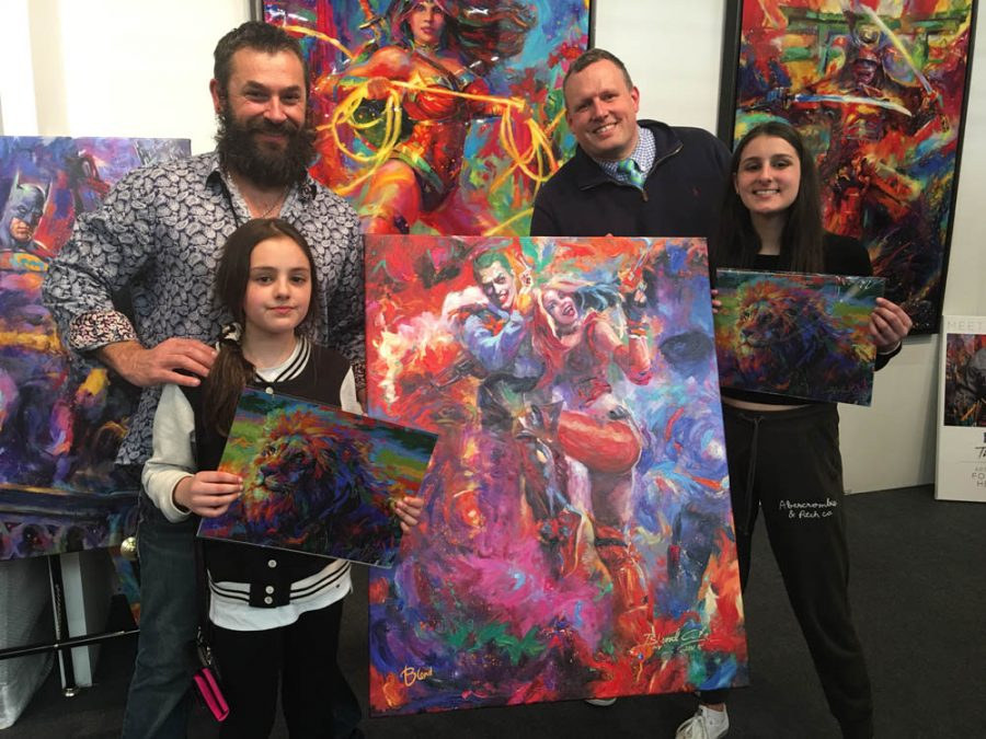 A fun filled weekend at ArtExpo New York