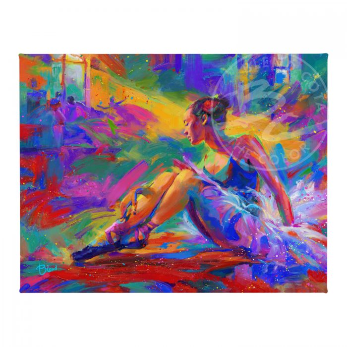 """The Ballerina - 11"""" x 14"""" Gallery Wrapped Canvas"""