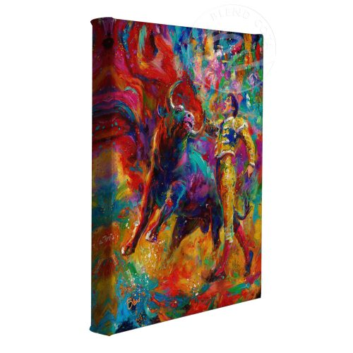 "The Bullfighter - 11"" x 14"" Gallery Wrapped Canvas"