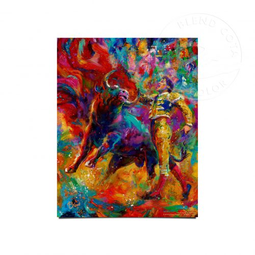 "The Bullfighter - 11"" x 14"" Art Prints"