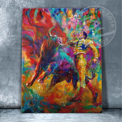 "The Bullfighter - 11"" x 14"" Floating Acrylic Prints"