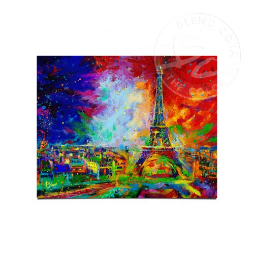 "Eiffle Tower - 11"" x 14"" Art Prints"