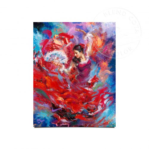 "Flamenco Dancer - 11"" x 14"" Art Prints"