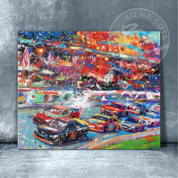 """The Great America Race - 11"""" x 14"""" Floating Acrylic Prints"""