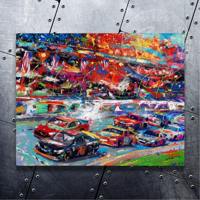 """The Great America Race - 11"""" x 14"""" Floating Metal Prints"""