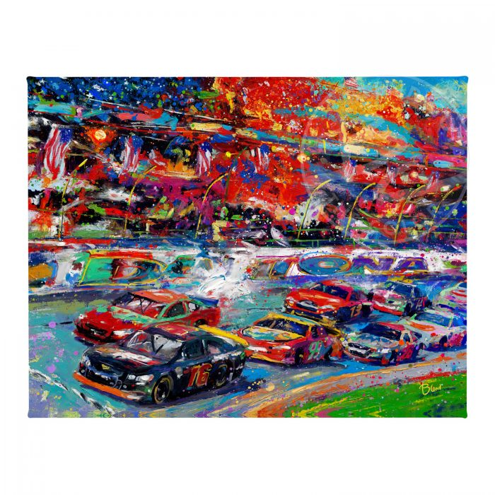 "The Great American Race - 11"" x 14"" Gallery Wrapped Canvas"