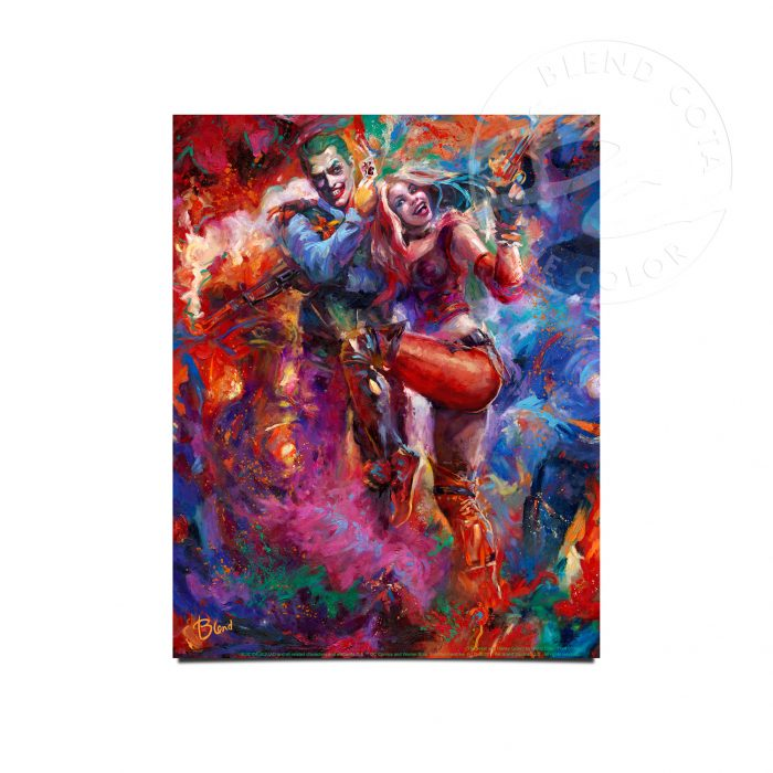 "The Joker and Harley Quinn - 11"" x 14"" Art Prints"
