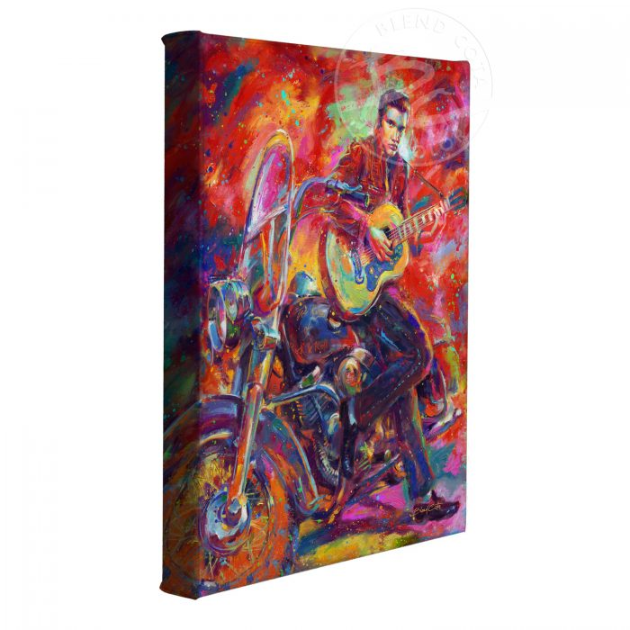 "The King of Rock and Roll - 11"" x 14"" Gallery Wrapped Canvas"