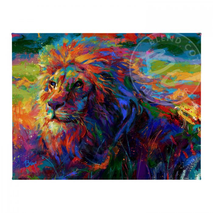 "King of the Jungle - 11"" x 14"" Gallery Wrapped Canvas"