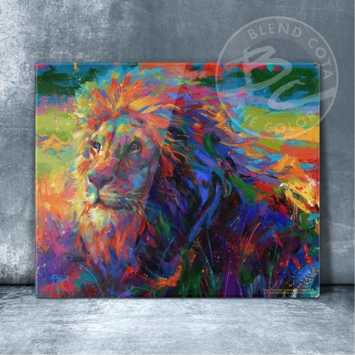 "King of the Jungle - 11"" x 14"" Floating Acrylic Prints"
