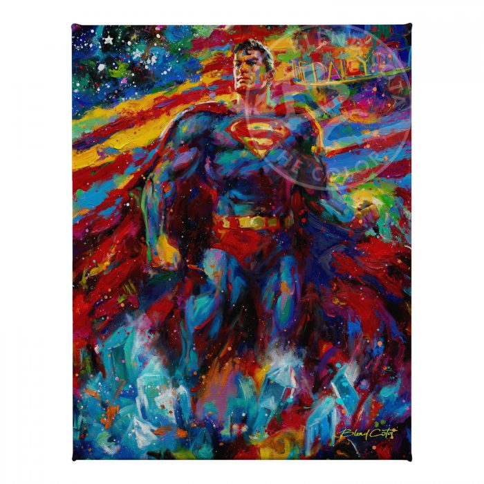 "Superman - Last Son of Krypton - 11"" x 14"" Gallery Wrapped Canvas"