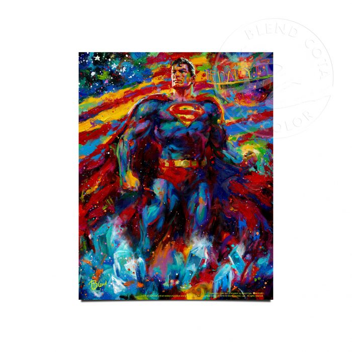 "Superman - Last Son of Krypton - 11"" x 14"" Art Prints"