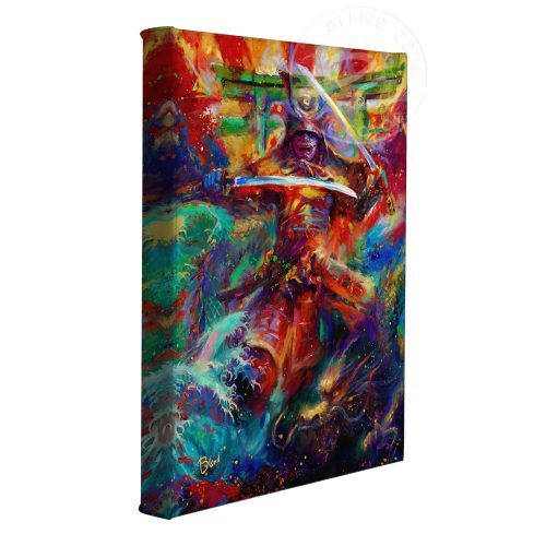 "Samurai Warrior - 11"" x 14"" Gallery Wrapped Canvas"