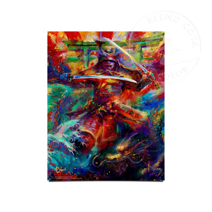 "Samurai Warrior - 11"" x 14"" Art Prints"