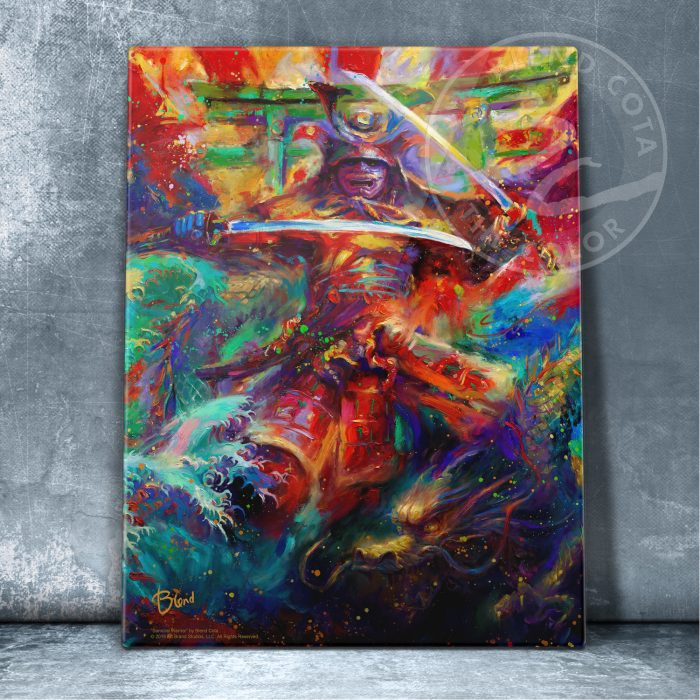 "Samurai Warrior - 11"" x 14"" Floating Acrylic Prints"
