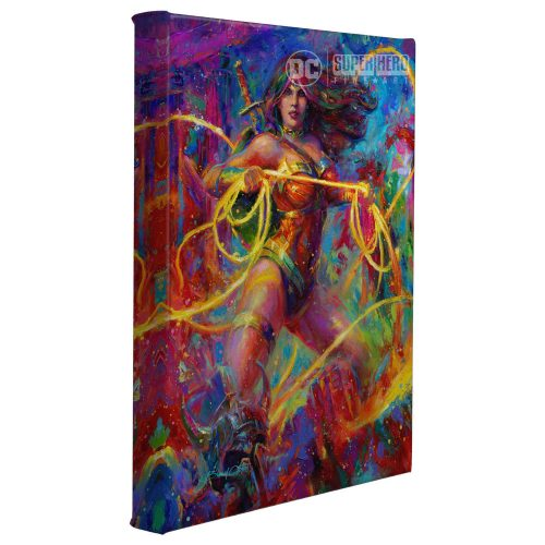 "Wonder Woman - Themyscira's Champion - 11"" x 14"" Gallery Wrapped Canvas"