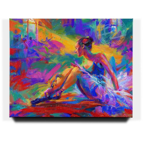 The Ballerina - Limited Edition Canvas