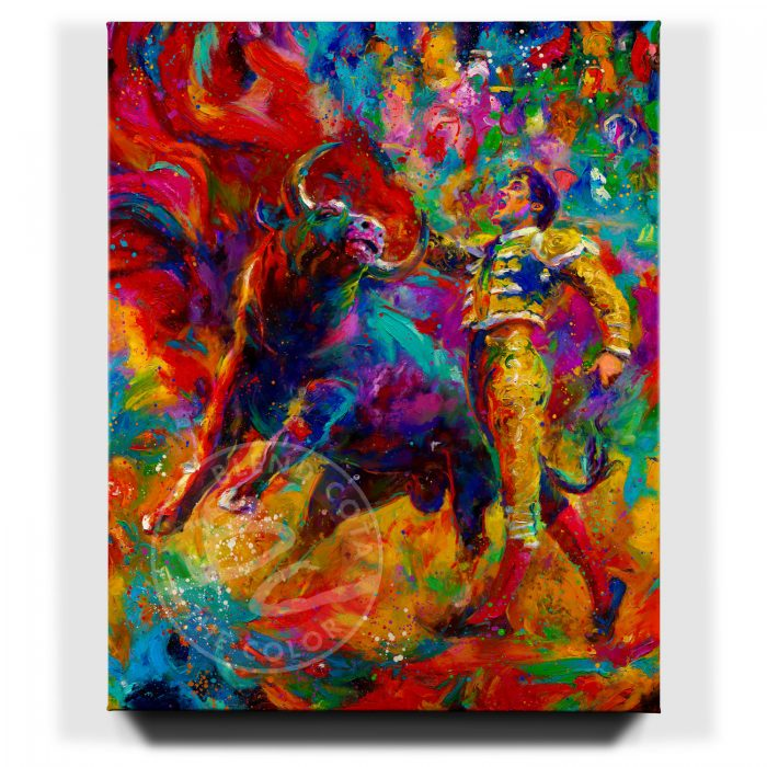 The Bullfighter - Limited Edition Canvas