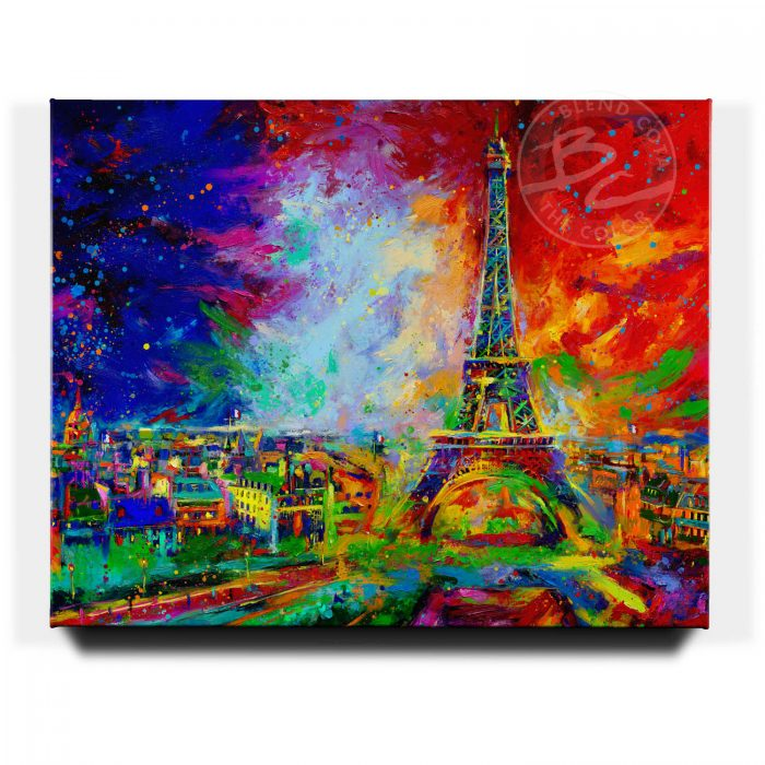 Eiffle Tower - Limited Edition Canvas