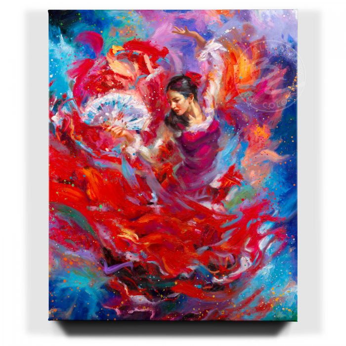 Flamenco Dancer - Limited Edition Canvas