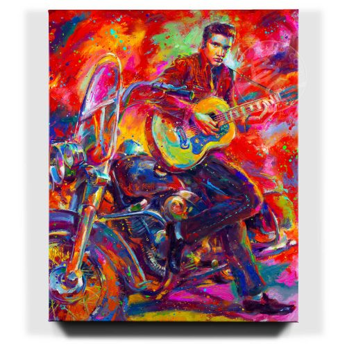 The King of Rock 'n' Roll - Limited Edition Canvas