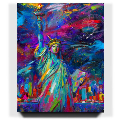 Vive La Liberté - Limited Edition Canvas