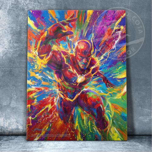 "The Flash - 11"" x 14"" Floating Acrylic Print"