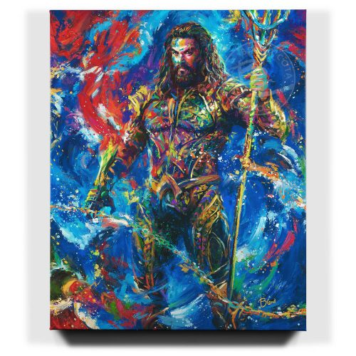 Aquaman - Limited Edition Canvas