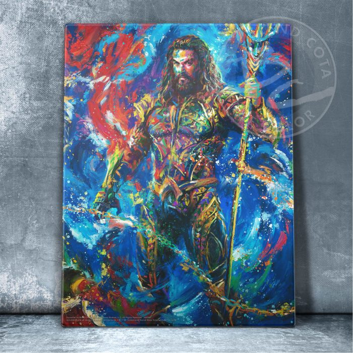 "Aquaman - 14"" x 11"" Floating Acrylic Prints"