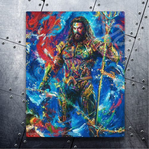 "Aquaman - 14"" x 11"" Floating Metal Prints"